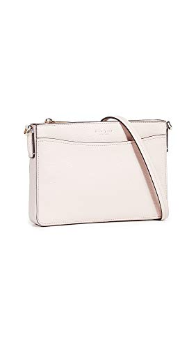 Kate Spade New York Women's Margaux Medium Convertible Crossbody Bag, Pale Vellum, Pink, One Size