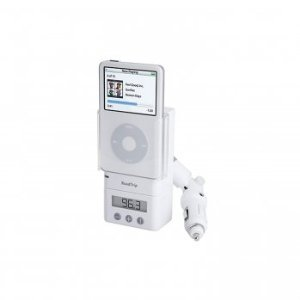 Griffin Technology 6051-ROAD RoadTrip FM Transmitter & Auto Charger and Cradle for iPod