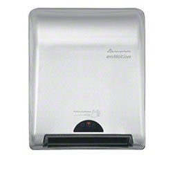 Zoom Supply Georgia Pacific enMotion Dispenser, Elegant Commercial-Grade Steel Recessed Touchless EnMotion Towel Dispenser -- ADA Compliant Version ()