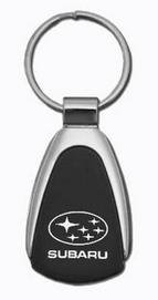 subaru-black-tear-drop-key-chain