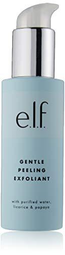e.l.f. Cosmetics Gentle Peeling Exfoliant, Removes Dead Skin for Glowing Skin, Fruit Infused Formula, 3.04 fl. oz