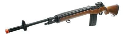 echo 1 m14 metal aeg in wood color airsoft gun