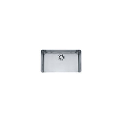 Franke KBX11028 Kubus 15-Inch x 27-Inch Single Bowl Undermount Kitchen Sink by Franke by Franke