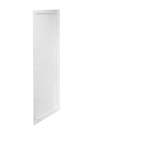 American Standard 3838Y1.CWT-L.020 Acrylux 38-Inch Corner Shower Wall Left Panel, White