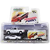 - 2018 Dodge Ram 2500 Pickup Truck & 1970 Dodge Challenger R/T & Enclosed Car Hauler Vanishing Point (1971) Movie 1/64 Diecast Models by Greenlight 31070 B
