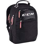 (CCM Hockey Sport Backpack Bag, Black)