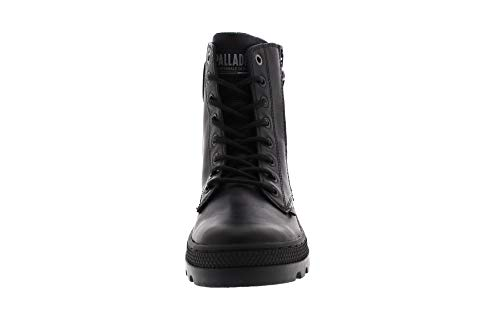 Hi Black Zip LTH Pallabosse Femme Black 466 Noir Botines Palladium Hq5gcc