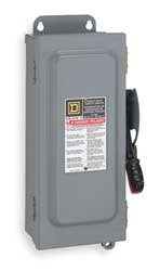 (400 Amp 240VAC/DC Single Throw Safety Switch 2P)