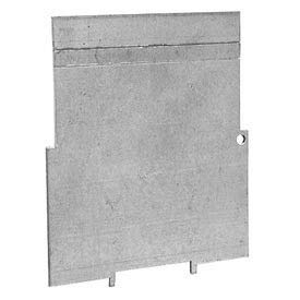 Hubbell 709 4'' Square Box Partition, For 2-1/8'' Deep Box, 1-1/4'' - 2'' Mud Ring - Pkg Qty 25 (709)