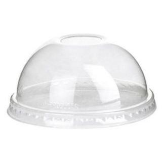 (Bulk Compostable Cold Cup Dome Lids, 12-20oz, GreenStripe Renewable: Eco-Products EP-DLCC (3000 Cold Cup Lids))