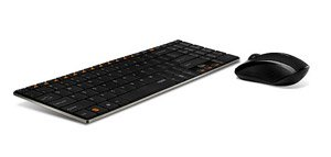 Rapoo 2.4Ghz Wireless Keyboard Mouse Combo (9060 Black)