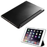 MyBat Asmyna APPLE iPad Air 2 MyJacket with Frosted Tray - Retail Packaging - Transparent/Black