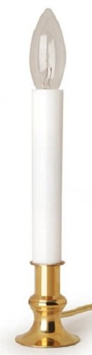 Darice 6201-70 9'' Electric Window candle Lamp w/ Automatic Timer - Quantity 24