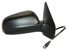 TYC 8610131 Volkswagen Jetta Passenger Side Power Heated Replacement Mirror, Smooth Black
