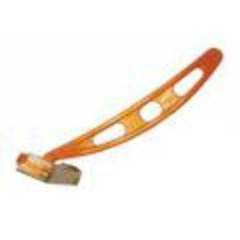 DDI Security Shield Single-Edge Razor, Orange, short open...