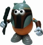 Disney Star Wars Spuda Fett Mr. Potato Head Toy