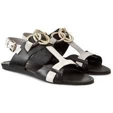 BRUNO PREMI Femmes - Sandale B1400X - nero bianco