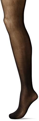 Hanes Silk Reflections Women's Plus Size Hanes Curves Seasonless Tights, Black, 3X/4X (Pantyhose Womens Plus Size)