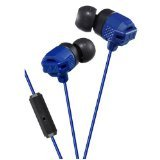 JVC HAFR202A Smartphone Series Xtreme Bass Earbuds, Blue