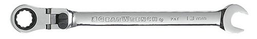 GEARWRENCH 85613 13mm XL Locking Flex-Head Ratcheting Combination Wrench ()