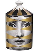 Fornasetti Losanghe Lidded Candle 300g by Fornasetti Profumi