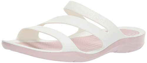 Crocs Womens Swiftwater Sandal | Casual Comfort Slip On |  Lightweight Water and Beach Shoe