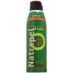 (2 Pack) Continous Spray 6-oz Natrapel 8-Hour Mosquito, Tick & Insect ()