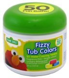 [Sesame Street Fizzy Tub Colors 24 Count] (24 Ct Tub)