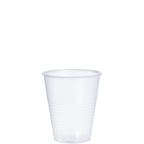 Dart Container 12oz Cold Plastic Cups, Clear, Pack of 1000 Y12S ()
