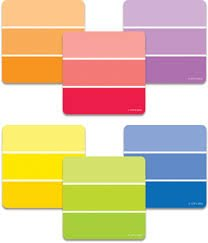Painted Palette Paint Chips 6