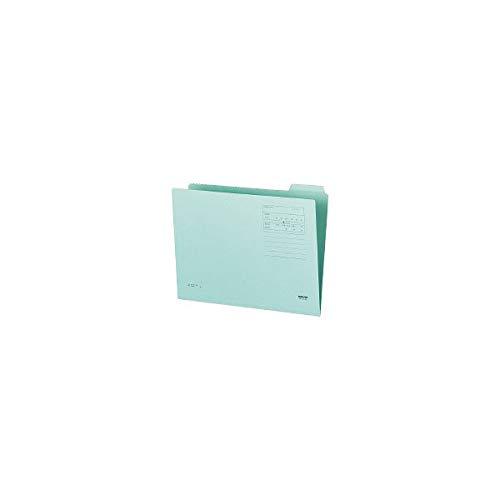 [해외]코크 14 가기 폴더 제 4 제목 A4 파랑 A4-4F-4B10 세트 / Kokuyo 14 Cut Folder 4th Heading A4 Blue A4-4F-4B  10 Set