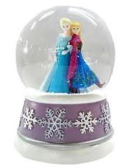 Disney Frozen Musical Waterglobe Snow Globe - Plays ''Let it Go''