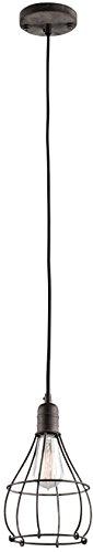 Weathered Zinc Pendant Light in US - 7