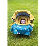 NFL Jacksonville Jaguars The Whole Caboodle 5PC set - Baby Car Seat Canopy with matching accessories