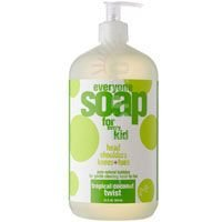 Body Safe Fragrance - Everyone 3-in-1 Soap for Every Kid Safe, Gentle and Natural Shampoo, Body Wash, and Bubble Bath, Tropical Coconut Twist