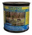 Powerfields H-3 Safe-Fence, Electric Fence Poly Tape, 825-Feet Roll, 1.5-Inch Wide, White