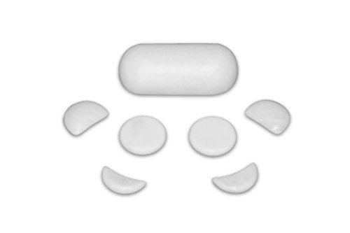 Marble Massage Set - 7 Piece Stone Set for Cold Stone Massage Facial