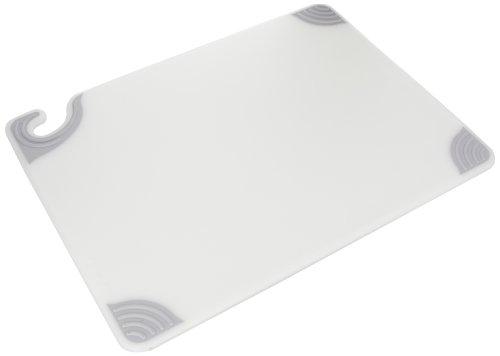 San Jamar CBG152012 Saf-T-Grip Co-Polymer Standard Size Cutting Board, 20
