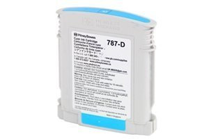 Pitney Bowes # 787-D Cyan Ink Cartridge for Connect + Series