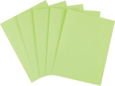 "Staples Brights Colored Paper, 8 1/2"" x 11"", Green, Ream"
