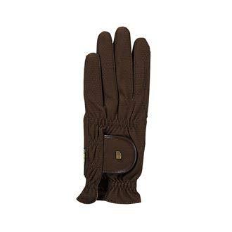 Roeckl Roeck-Grip Unisex Gloves 9 Mocha