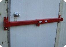 Door Lock for Job Site Office - Keyed Alike