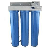 (Pura Triple Housing Whole-House System with Sediment Filtration, 8 GPM)