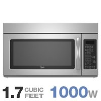 Whirlpool : WMH2175XVS 30 Microwave-Range Hood Combination Stainless Steel by Whirlpool
