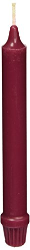 Colonial Candle Classic Tapers, 8-Inch, Mulberry - Pack of 12