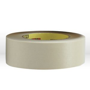 3M Scotch 232 High Performance Masking Tape, 250 Degree F Performance Temperature, 27 lbs/in Tensile Strength, 60 yds Length x 1