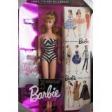 Import Barbie doll Barbie 35th Anniversary Special Edition Reproduction of Original 1959 Barbie Doll & Package (1993) - Blonde Hair [parallel import goods]