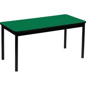 Correll LR3072-39 High Pressure Library Table, 30 x 72 x 29 in. - Green by Correll
