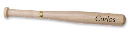 Quality Personalized Maple Wood Baseball Bat Pen - Free Engraving