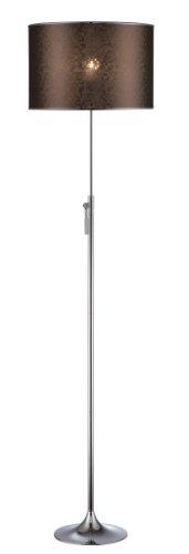 Lite Source LSF-81810 Delaire Adjustable Floor Lamp, Chrome, Vinyl (Lite Source Chrome Adjustable Floor Lamp)